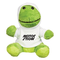 "Picture of Custom Printed 8.5"" Fantastic Frog Plush Animal"