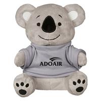 "Picture of Custom Printed 8.5"" Koko Koala Plush Animal"