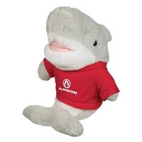 "Picture of Custom Printed 8.5"" Salty Shark Plush Animal"
