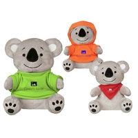 "Picture of Custom Printed 8.5"" Koko Koala Plush Animal"