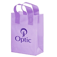 """Picture of Flexograph Color Frosted Loop Bag - 10"""" x 13"""" x 5"""""""