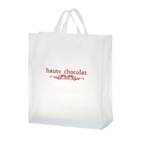 "Promotional Flexograph Frosted Loop Bag - 16"" X 18"" X 6"""
