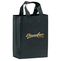 Imprinted Foil Stamped Color Frosted Loop Bag