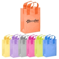 "Picture of Flexograph Color Frosted Loop Bag - 8"" W x 11"" H x 4"" D"