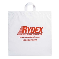 Custom Soft Loop Handle Shopping Bag