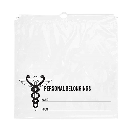 "Picture of Medical Industry Cotton Cord Drawstring Bag - 20"" x 20"" x 4"""