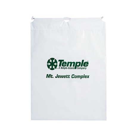 "Picture of Large Cotton Cord Drawstring Bag - 16"" W x 18"" H x 3"" D"