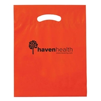 """Picture of Reusable Reinforced Die Cut Handle Bag - 12"""" X 16"""" x 3"""""""