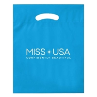 "Picture of Large Reusable Reinforced Die Cut Bag - 15"" W x 18"" H x 3"" D"