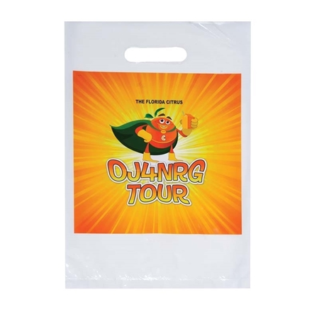Promotional Digital Full Color Die Cut Handle Bag