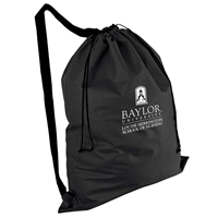 Picture of Non-Woven Laundry Duffel Bag With Over the Shoulder Strap