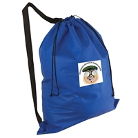 Picture of Full Color Non-Woven Laundry Duffel Bag With Over the Shoulder Strap