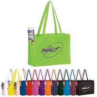 "Picture of Over the Shoulder Non-Woven Tote - 16"" W x 12"" H x 6"" D"