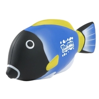 Blue Tang Fish Stress Ball with logo