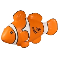 Picture of Custom Printed Clown Fish Stress Ball