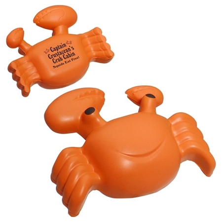 Picture of Custom Printed Crab Stress Ball