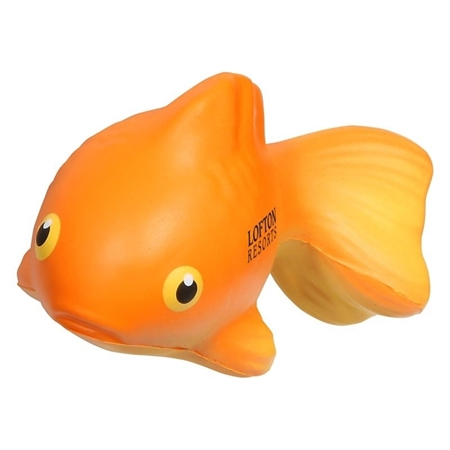 Picture of Custom Printed Goldfish Stress Ball