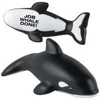 Picture of Custom Printed Killer Whale Stress Ball