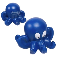 Custom Printed Octopus Stress Ball