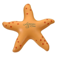 Picture of Custom Printed Starfish Stress Ball
