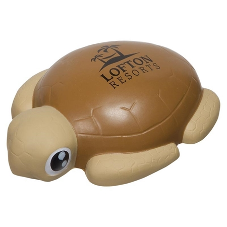 Picture of Custom Printed Sea Turtle Stress Ball