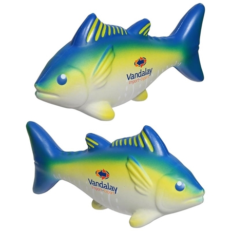 Picture of Custom Printed Yellowfin Tuna Stress Ball