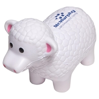 Picture of Custom Printed Sheep Stress Ball