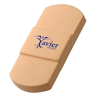 Branded Adhesive Bandage Stress Ball