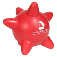 Red Custom Printed Blood Platelet Stress Ball