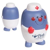 Custom Printed Pill Nurse Stress Ball