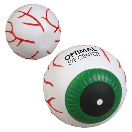 Picture of Custom Printed Eyeball Stress Ball