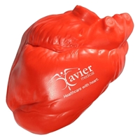 Custom Printed Heart No Veins Stress Ball