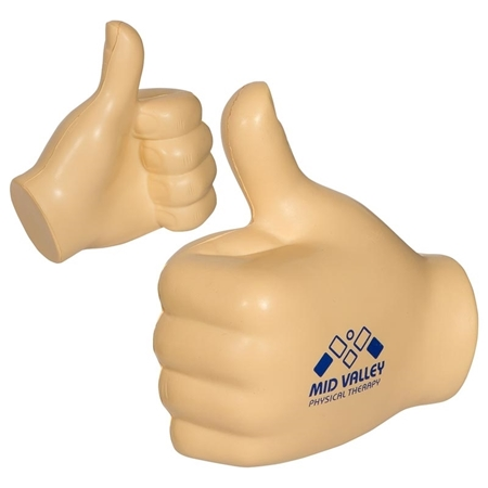 Custom Printed Thumbs Up Stress Ball