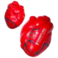 Picture of Custom Printed Heart With Blue Veins Stress Ball