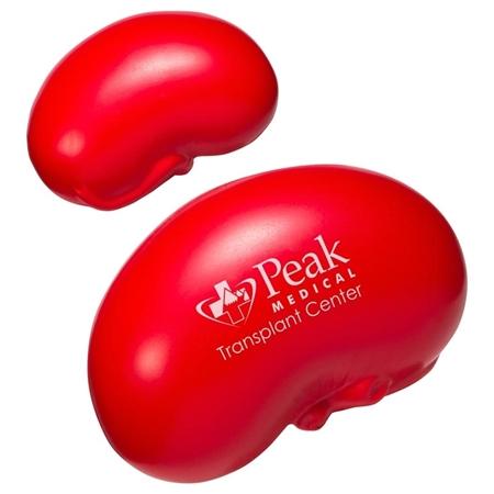Custom Printed Kidney Stress Ball