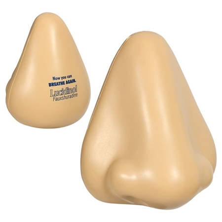 Picture of Custom Printed Nose Stress Ball