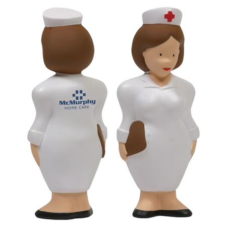 Picture of Custom Printed Nurse Stress Ball