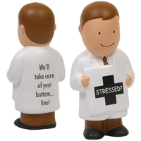 Picture of Custom Printed Physician Stress Ball