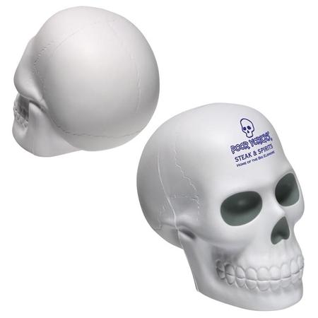 Custom Skull Stress Ball