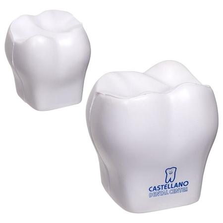 Custom Printed Tooth Stress Ball