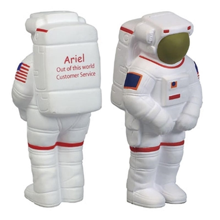 Branded Custom Astronaut Stress Ball