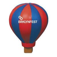 Picture of Custom Printed Hot Air Balloon Stress Ball