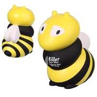 Custom Printed Bee Stress Ball