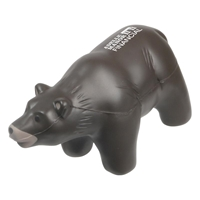 Picture of Custom Printed Grizzly Bear Stress Ball