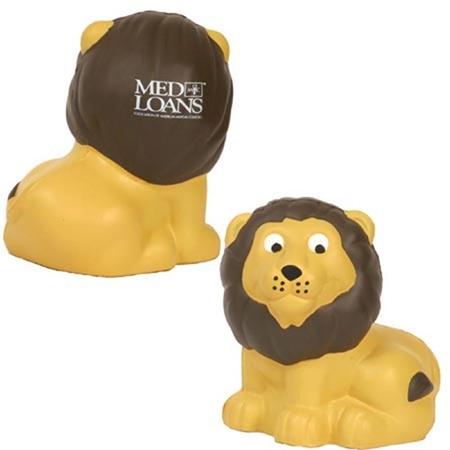 Custom Printed Lion Stress Ball