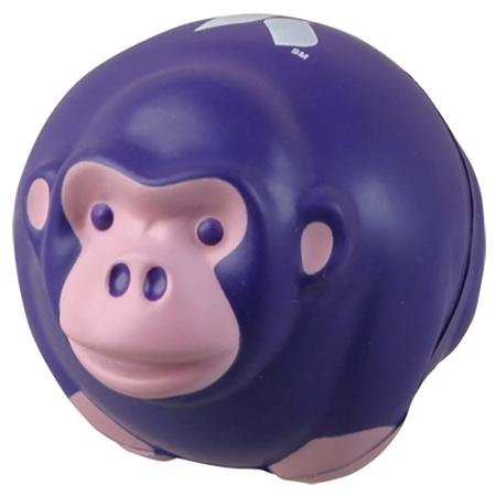 Custom Printed Monkey Stress Ball