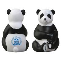 Picture of Custom Printed Sitting Panda Stress Ball