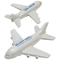 Picture of Custom Printed Passenger Airplane Stress Ball