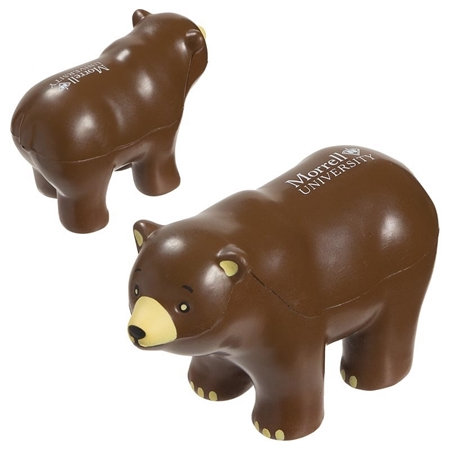 Picture of Custom Printed Bear Stress Ball