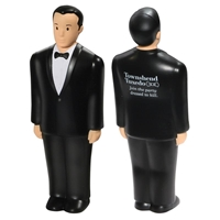 Picture of Custom Printed Groom Stress Ball